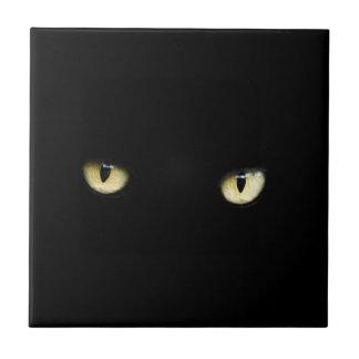 Carreau de céramique décoratif noir de plots