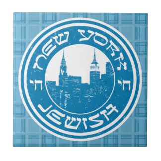 Carreau de céramique juif de New York
