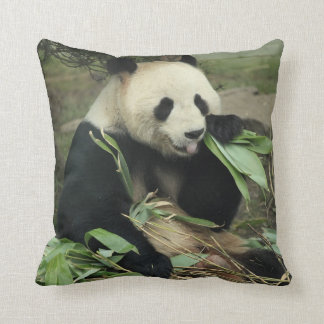 Carreau de panda géant et de panda de bébé coussin