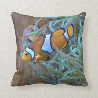 Carreau de photo de Clownfish Coussin Décoratif