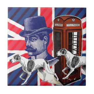 Carreau Drapeau anglais de cric des syndicats de cabine