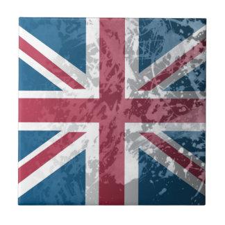 Carreau Drapeau britannique, (le R-U, la Grande-Bretagne