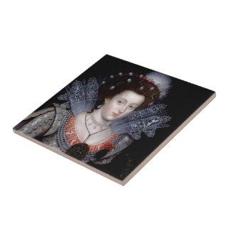 Carreau Elizabeth, reine d'hiver de la Bohême