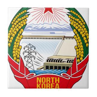 Carreau Emblème du DPRK (Corée du Nord)