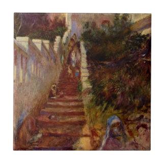 Carreau Étapes à Alger par Pierre-Auguste Renoir