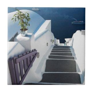 Carreau Étapes de Santorini Oia, Grèce