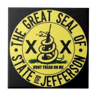 Carreau État de Jefferson