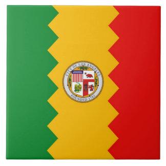 Carreau État de la Californie, tuile de drapeau de Los