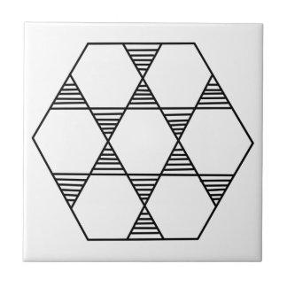 Carreau Étoile d'hexagone