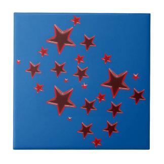 Carreau Étoile rouge