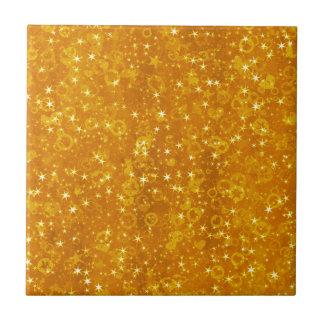 Carreau Étoiles d'or