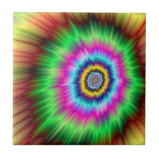 Carreau Explosion de tuile de couleur