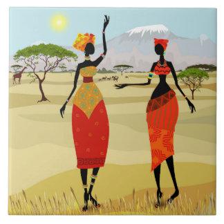 Carreau Femmes d'animation du Kenya