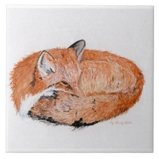 Carreau Fox de sommeil