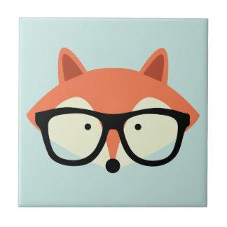 Carreau Fox rouge de hippie mignon