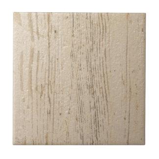 Carreau Grain en bois lavé par blanc