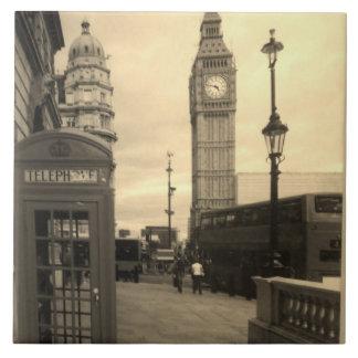 Carreau Grande Ben tuile décorative de photo de Londres