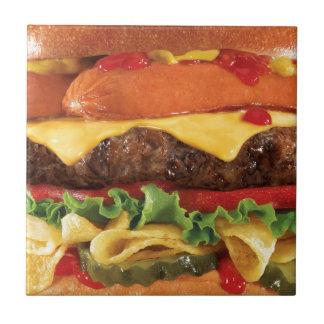 Carreau hamburger