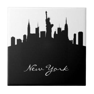 Carreau Horizon noir et blanc de New York