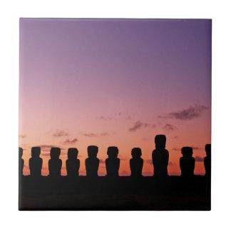 Carreau Île de Pâques Rapa Nui Chili Amérique du Sud