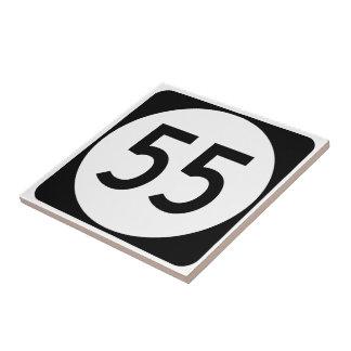 Carreau Itinéraire 55 du Kentucky