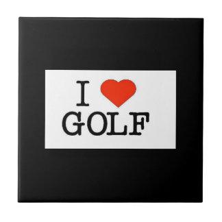 Carreau J'aime le golf