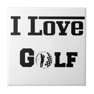 Carreau J'aime le golf 2