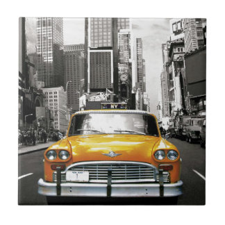Carreau J'aime NYC - taxi de New York