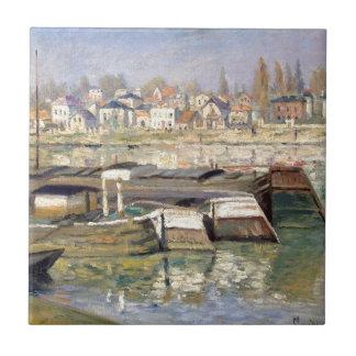 Carreau La Seine chez Asnieres par Claude Monet