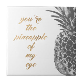 Carreau La vie II d'ananas