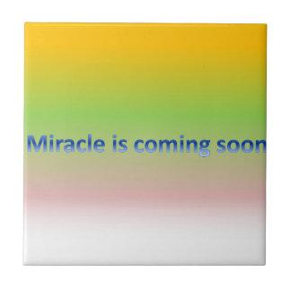Carreau le miracle viendra bientôt