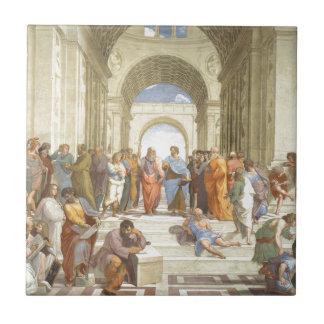 Carreau L'école d'Athènes