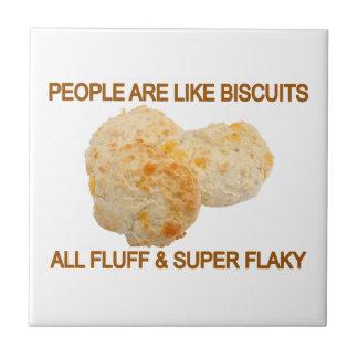 Carreau Les gens sont comme des biscuits