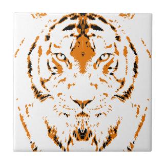 Carreau Les humains sont comme des tigres, sauvages