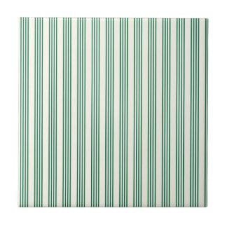 Carreau lignes parallèles rayures de verticale de vert