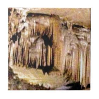 Carreau lignes verticales dans les roches