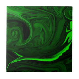 Carreau malachite verte de texture