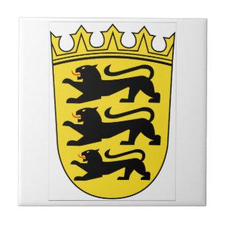 Carreau Manteau de Bade-Wurtemberg (Allemagne) des bras