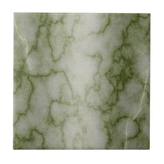 Carreau Marbre vert et blanc