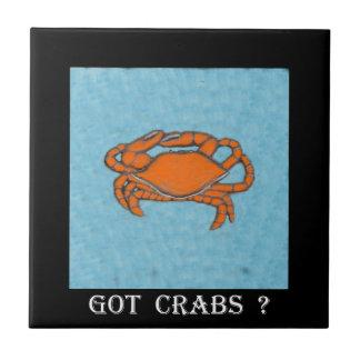 Carreau Marche en crabe (le Maryland, Golfe et Côte Est)