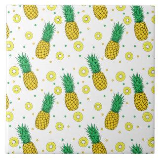 Carreau Motif d'ananas