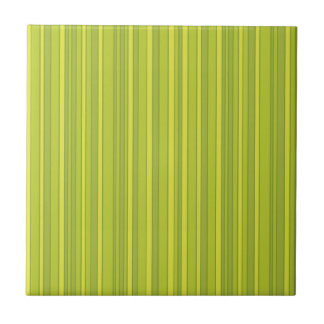 Carreau Motif de rayures de vert jaune d'ECO