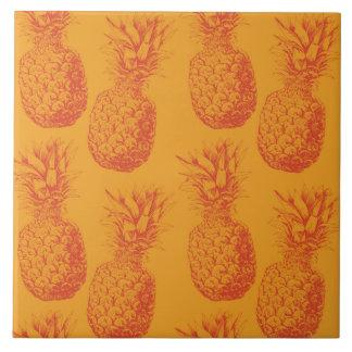 Carreau Motif sans couture avec des ananas