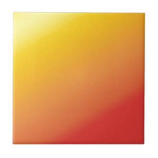 Carreau Nuance orange simple de rouge d'or