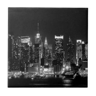 Carreau Nuit de New York City