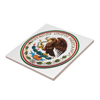 Carreau ONUDI Mexicanos (Eagle d'Estados de drapeau
