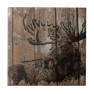 Carreau Orignaux en bois rustiques
