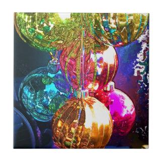 Carreau Ornements lumineux de Noël