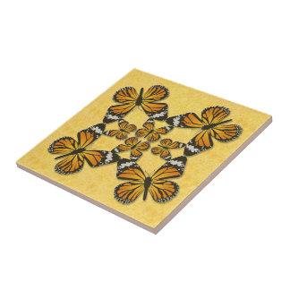 Carreau Papillons de monarque
