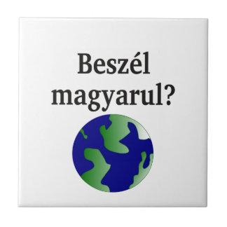 Carreau Parlez-vous hongrois ? dans le Hongrois. Avec le